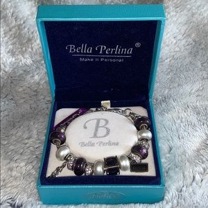 Bella Perlina Bracelet with owl charm